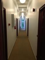 Narrow hallways